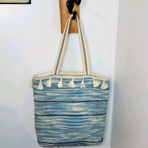 Amuse Society Tassel Tote Bag/Purse